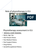 Role of Physiotherapy in ICU