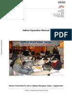 DACAAR Saffron Operation Manual
