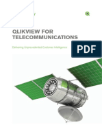 DS QlikView for Telecommunications Delivering Unprecedented Customer Intelligence En