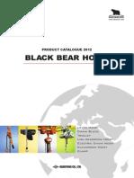 Catalog, chainblock, black bear