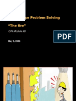 Root cause problem solving example