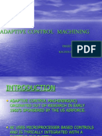 Adaptive Control Machining
