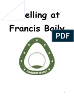 Spelling at Francis Baily for Parents