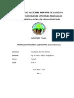 Informe Propiedades Físicas Del Ucshaquiro