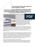 Hero Singer Mariah Carey and The Speed Traders Author Edgar Perez to Present in Singapore on October