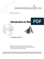 Introduction to MATLAB - Sikander M. Mirza
