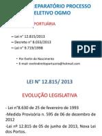Legislação Portuária - Aula 1