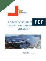 05 Mw Pv-solar Power Plant Brochure Dec 2013