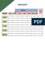 Consolidated Score Sheet