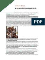 La descentralización  y regionalizacion en el Perú.docx