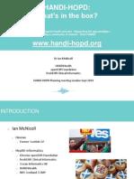 Handi-HANDI-HOPD Summit Ian McNicoll - 18 Sept 14 Ian London 18 Sept 2014