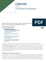 «Juan Pablo II Me Liberó de Satanás» - ReL