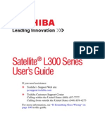 Satellite L300 Series User's Guide