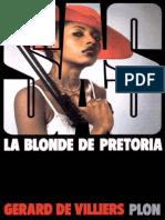 [SAS-077] La Blonde de Pretoria - Gerard de Villiers_2