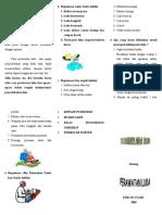 Leaflet Perawatan Luka & IMUNISASI