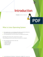 Introduction to Linux Bcs01