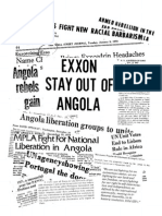 American Committee on Africa -- Exxon Stay Out of Angola