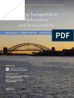 Linking Transportation Performance and Accountability