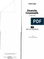 Engel, Ulrich - Deutsche Grammatik