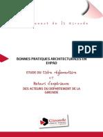 Cg33 Bonnes Pratiques Architecturales en Ehpad