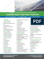Feasibility Study of Solar Power in India 2014