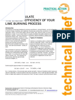 Calculating Energy Efficency Lime Burning Process (1)