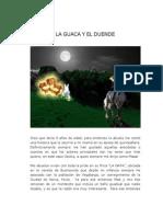 Trabajo Del Cuento - La Guaca y El Duende - DIBUJO