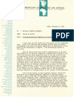 American Committee on Africa -- Portuguese-American Committee on Foreign Affairs