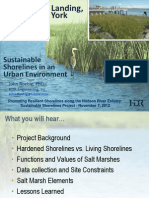 Sustainable Shorelines in an Urban Environment