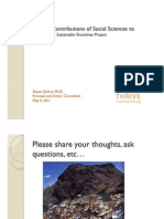 Further Contributions of Social Sciences to Hudson River Sustainable Shorelines project