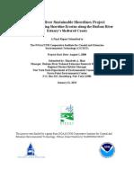 Hudson River Sustainable Shorelines Project Phase I
