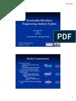 Sustainable Shorelines Engineering Analysis Update