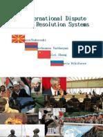International Dispute Resolution System Final