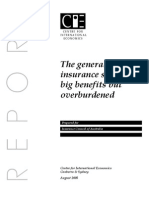 General Insurance-big Benefit but Overburdened