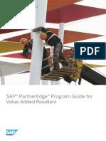 SAP PartnerEdge Program Guide for Value-Added Resellers
