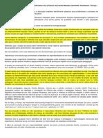 Ação Pedagógica e Transformação Educativa Nas Crônicas de Cecília Meireles