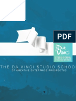 The Da Vinci Studio School of Creative Enterprise - Course Prospectus