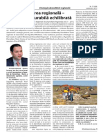 """Interviu cu directorul ADR Nord, Ion Bodrug, pentru ziarul """"Funcționarul Public"""""""