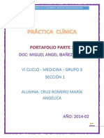 Práctica Clínica Informe