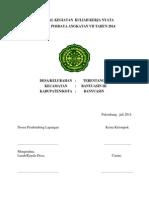 Proposal Bantuan Dana