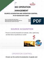 Pb 602 Operation Management Chapter 6