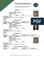 public arrest report for 19sep2014