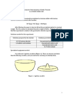 gravimetric determination of sulphur in a soluble sulphate Why does solubility play a role in a gravimetric determination of sulfur as sulfate ions,in a fertilizersample gravimetric determination of sulfate gravimetric sulfate determination.