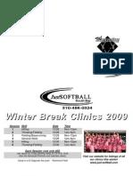 Winter Break Clinics - December 28, 29 & 30