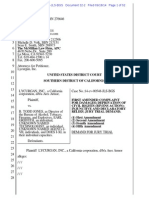 Ares Armor Amended Complaint