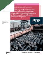 Boletín Actualidad Corporativa N° 16 - Requisitos Para La Autorización de Manejadores de Sustancias, Materiales o Desechos