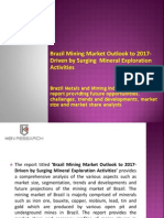 Brazil mining market research report and future outlook to 2017