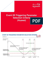 Event 2D Triggering Parameter Selection Criteria_V1.0