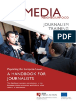 BBC Media Action a Handbook for Journalists