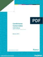 Condiciones Comerciales 29-03-12